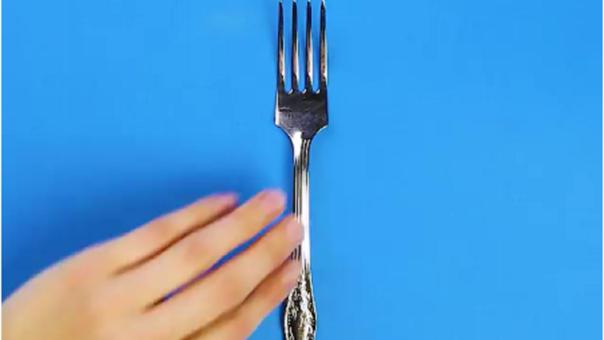 Increíbles trucos con el tenedor que querrás probar