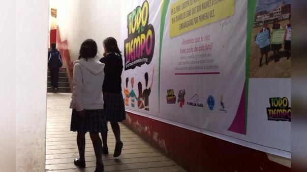 De cada 100 adolescentes 17 están embarazadas en Cajamarca