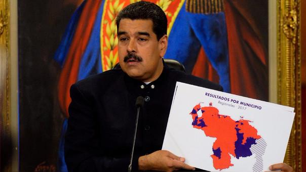 Nicolás Maduro cree que las redes sociales Facebook e Instagram jugaron en contra de la campaña del chavismo en las elecciones regionales del pasado domingo.