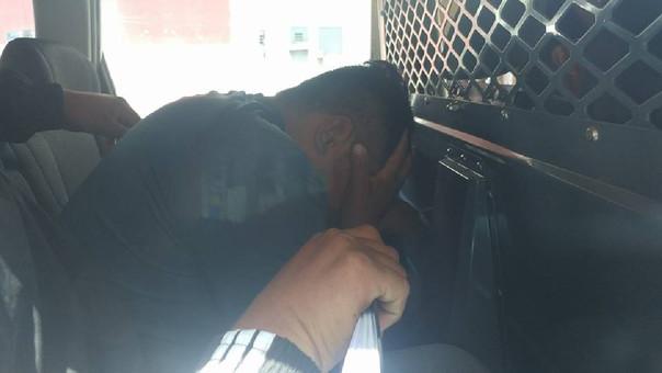 Los detenidos fueron trasladados hoy a la Divincri Chiclayo.