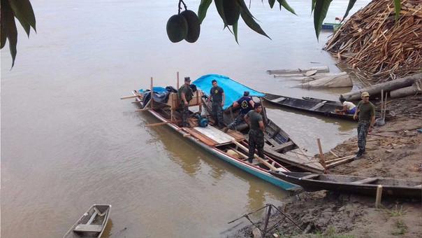 Operativo en rio Napo