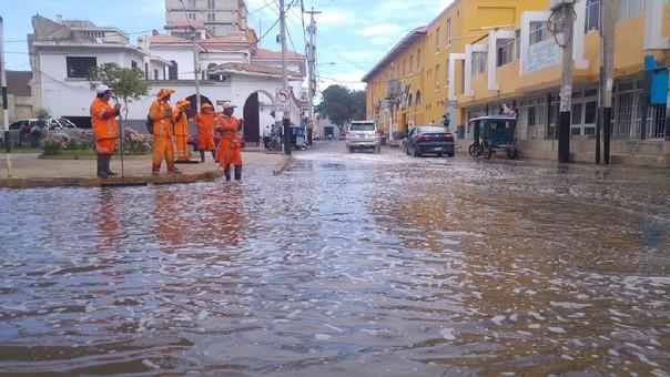 Cabe recordar que esta zona también se inundó durante el fenómeno Niño Costero.