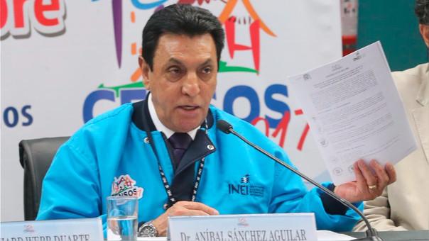 Aníbal Sánchez ha sido criticado por los inconvenientes en el desarrollo del censo del domingo.