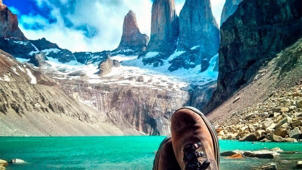 Chile comienza en el desierto y termina en la Patagonia.