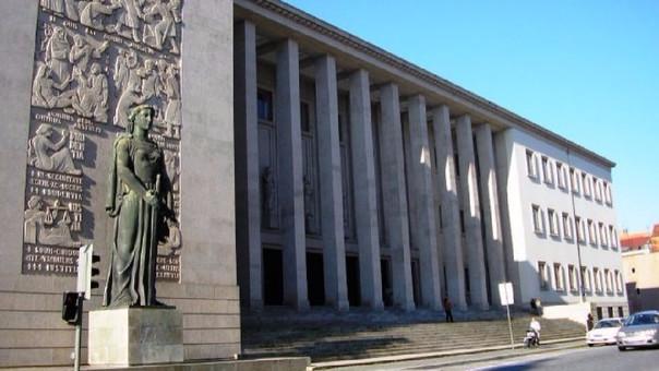 La fachada del tribunal en Oporto donde se emitió la sentencia.