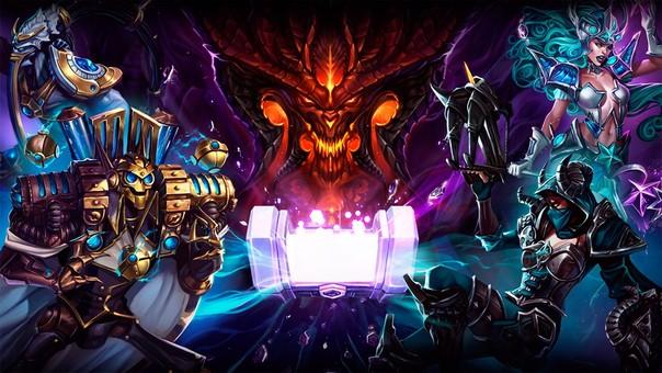 Heroes of the Storm reúne a los personajes más reconocidos de los juegos de Blizzard.