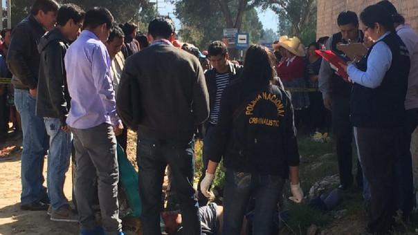 Policía del distrito de La Asunción inició las investigaciones