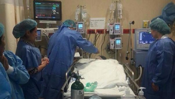 Niño hospitalizado