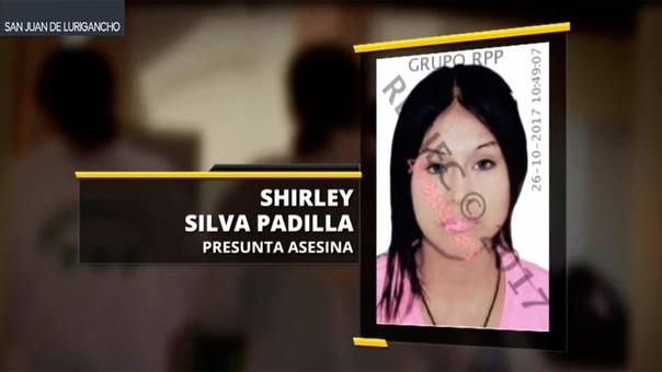 Shirley Silva Padilla (21) fue atrapada esta mañana.