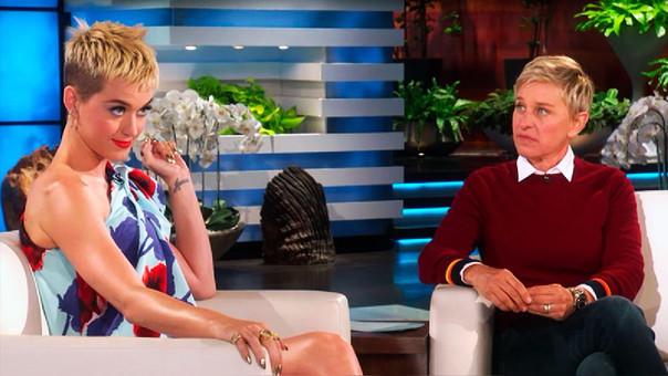 Ellen Degeneres y Katy Perry