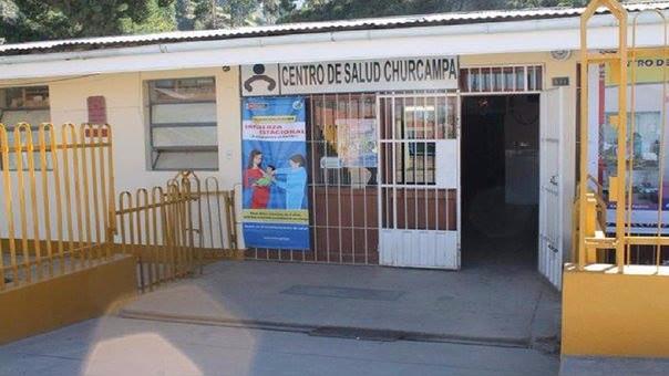 Centro de salud de Churcampa.