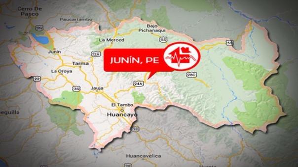Fuerte terremoto de 5,7 sacude a Perú