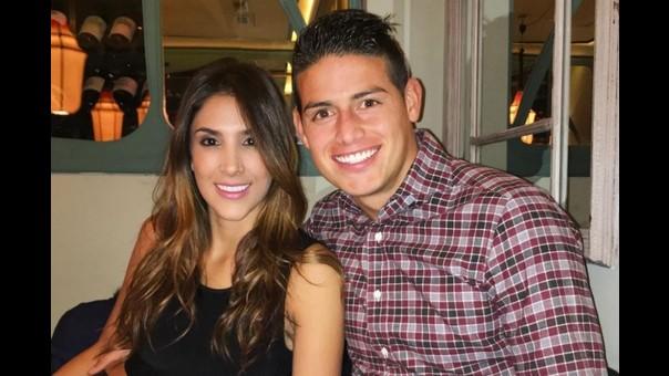 James Rodríguez y Daniela Ospina estuvieron casados por 6 años.