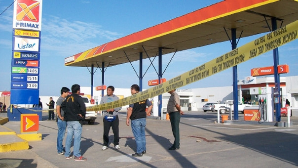 La Policía Nacional realiza las diligencias respectiva para identificar a los delincuentes