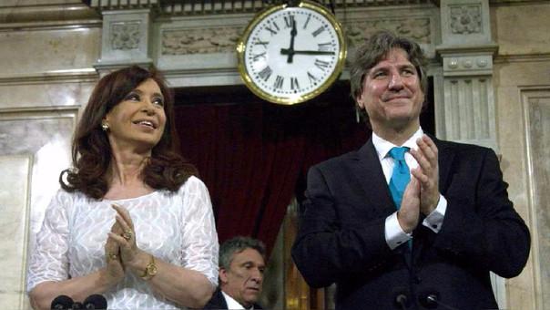 Boudou fue vicepresidente del segundo gobierno de Cristina Fernández.