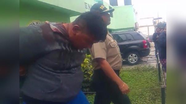 Policía asaltante
