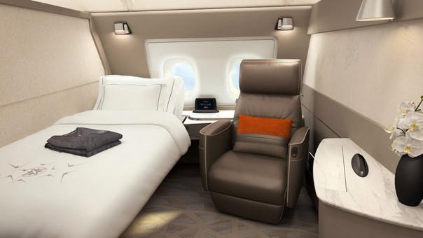 La aerolínea ha implementado exclusivas cabinas en su Airbus A380