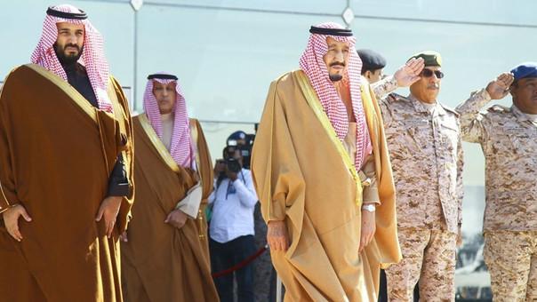 Detienen a 10 príncipes en Arabia Saudita por corrupción