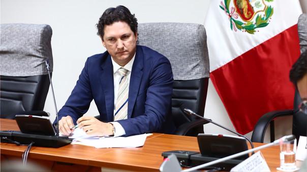 Daniel Salaverry, vocero de Fuerza Popular, fue crítico de los fiscales por la investigación a Keiko Fujimori.