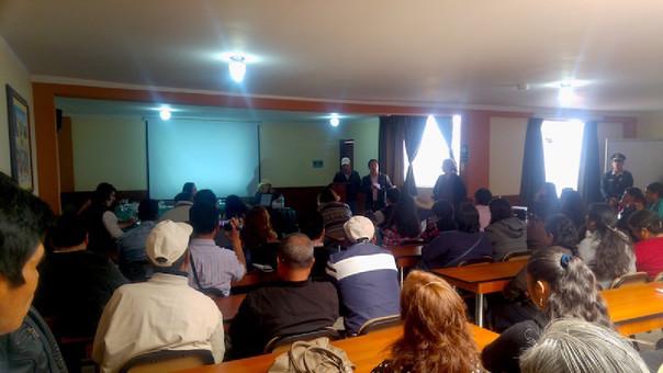 Reunión de comunidades de Michiquillay