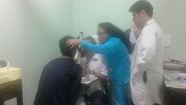 Joven  es atendido  en el hospital La Caleta de Chimbote