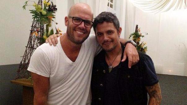 Gian Marco y Alejandro Sanz