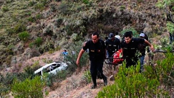 Accidente en Pallasca