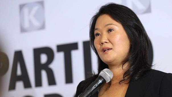 Keiko Fujimori ha negado en varias ocasiones que su campaña haya sido financiada por Odebrecht.