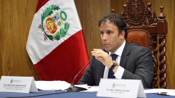 El fiscal Peña Cabrera fue uno de los primeros en confirmar que existía una nota de Marcelo Odebrecht que hablaba sobre Keiko Fujimori.