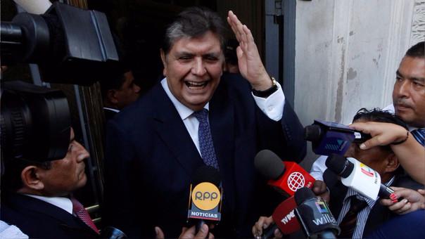 Alan García responde a testimonio de Marcelo Odebrecht