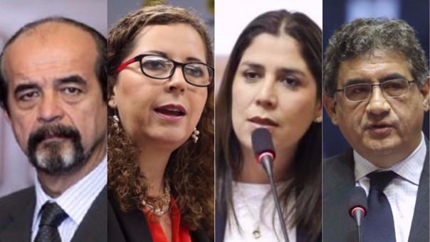 Los parlamentarios se pronunciaron sobre la situación del presidente de la República.