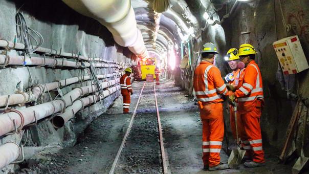 Sin una línea de transmisión eléctrica, las obras en el túnel podrían detenerse.