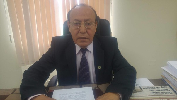 Rector de la USP, José Huamán Ruíz.