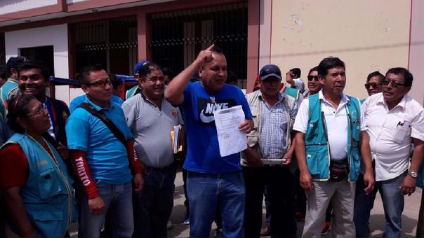 Mototaxistas piden diálogo con alcalde de Piura, Oscar Miranda.