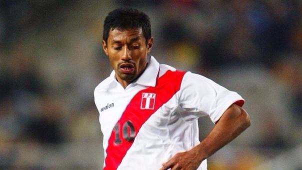 El 'Chorri' Palacios debutó con la Selección Peruana en 1993.