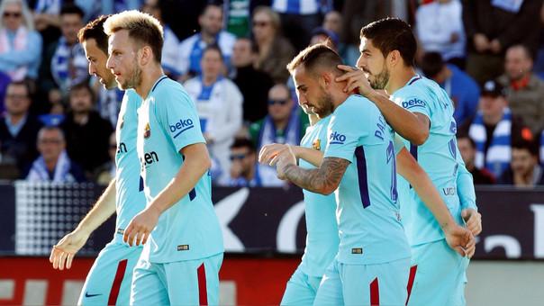 Barcelona continúa invicto en La Liga desde que inició la temporada 2017/2018.