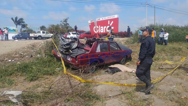 Accidente ocurrió en el cruce a Monsefú
