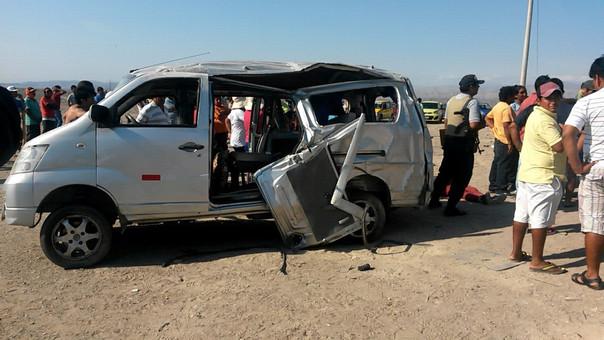 Accidente de tránsito dejó dos muertos en Ica.