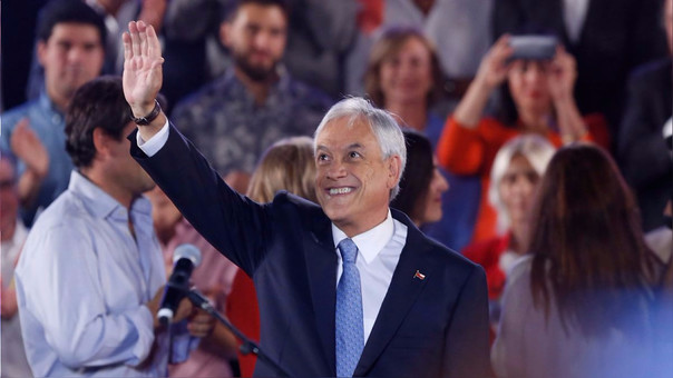 El empresario y millonario chileno, Sebastián Piñera, busca la reelección presidencial luego de cuatro años.