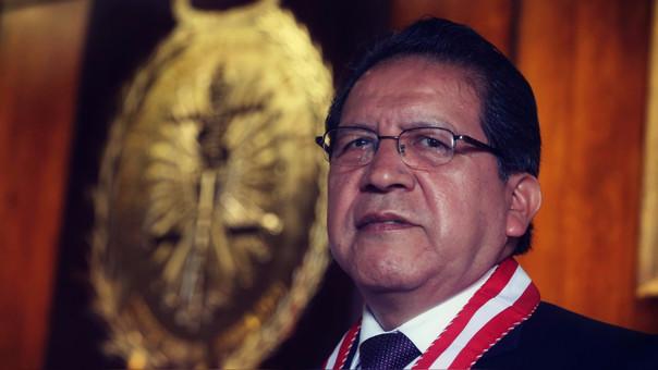 El congresista Daniel Salaverry presentó una denuncia constitucional contra el fiscal Pablo Sánchez hace dos semanas.