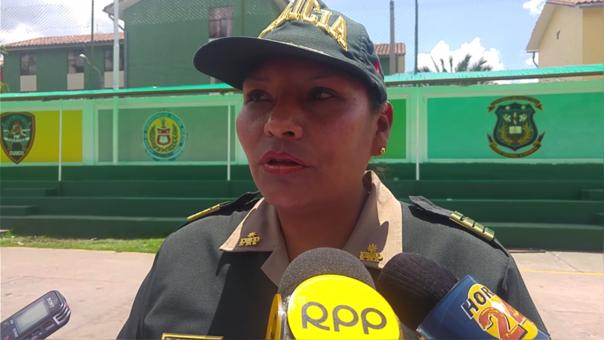 Mayor PNP Edith Espejo Puma Comisarío Tahuantinsuyo cusco