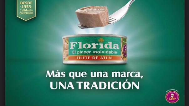 Florida es una de las marcas de conservas de pescado más reconocidas en el mercado peruano.