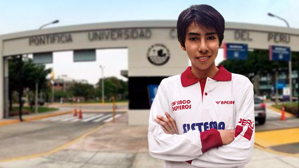 Frank Campos ingresó a dos de las universidades más prestigiosas del país.