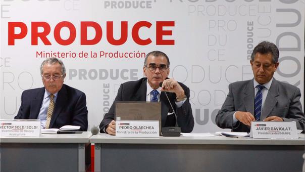 Olaechea recordó que la pesca aporta el 0.4% del PBI nacional. En el primer semestre del año, el sector pesquero fue uno de los motores de crecimiento de la economía peruana.