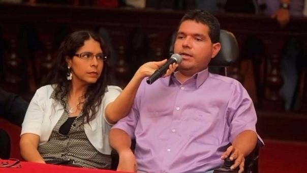 En el proceso también está incluida Claudia Gonzales, esposa del excongresista.