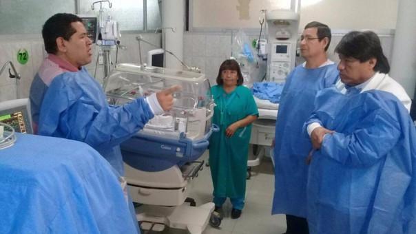 El parlamentario cuestionó que hasta ahora no se haya comprado el terreno para el nuevo hospital.