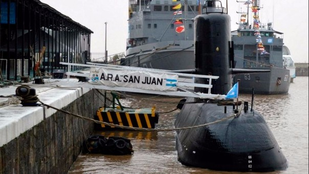 El ARA San Juan desapareció con 44 tripulantes.