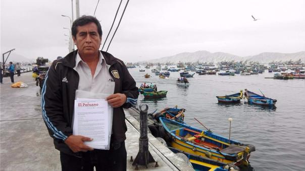 El secretario general del Sindicato de Pescadores