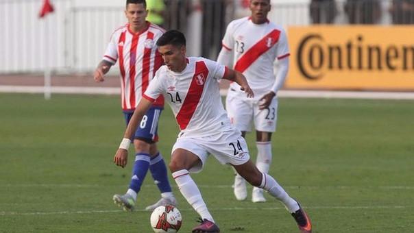 José Manzaneda debutó futbolísticamente con Juan Aurich en el 2014.