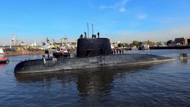 Continúa la operación de rescate del submarino Ara San Juan